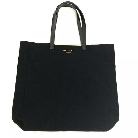 0910e4ea66 Jimmy Choo Handbags - Jimmy Choo Perfume Tote Bag Black Soft Velvet NWOT